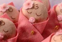 Baby Shower Favors / Sugestões de lembrancinhas para o chá de bebê