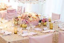 Wedding Centerpieces / Decoração de mesas para um casamento perfeito