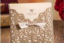 Wedding Invitation / Convites incríveis para um casamento perfeito