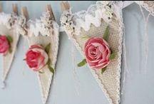 Burlap / Juta / Estopa e ideias fofas! Pra casa, casamento, presentes... muitas formas de usar a estopa.