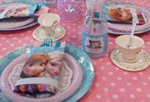Kids Party Ideas: Frozen / Ideias e lembrancinhas para festas inspiradas na história da Elsa e Ana