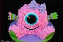 Kids Party Ideas: Scary Monsters / Festas divertidas de monstrinhos fofos