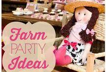 Kids Party Ideas: Farm / Festas inspiradas na fazendinha e em seus bichinhos