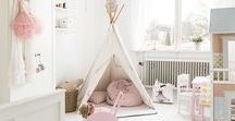 Home Decor | Kids Bedroom / Home decor and interiors inspiration for a kids bedroom and playroom.