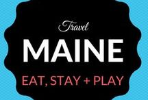 Maine Travel / What is going on #Downeast in Maine!