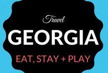 Georgia Travel / Where to Eat. Sleep. Stay + Play.