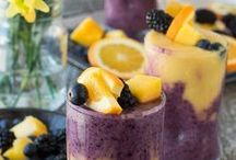 Smoothies, Smoothies, Smoothies / Take me away to blendin' heaven with these smoothie ideas. Healthy and refreshing... what more could you ask for?