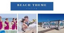 Beach Wedding Ideas / Celebrate in complete privacy and grand style and let us take care of all the details for you. Our goal is for you to have an unforgettable celebration and be in the talks, whether its with DIY beach wedding ideas you create along the gold sand and coral or planning with Host Events for your gorgeous beach destination weddings, ceremonies & parties.