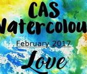 CAS Watercolour Feb. 2017 Challenge