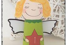Weihnachten - DIY, Basteln und Rezepte für Kinder / Basteln und Beschäftigung, Rezepte und DIY zum Advent, Winter und Weihnachten für Kleinkinder und Kinder.