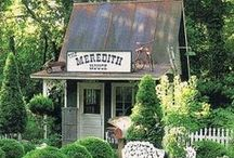Charming Sheds / While I eagerly await a shed of my very own, I am getting some fantastic ideas from these pics!