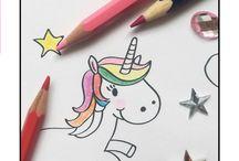 Kinder | Ausmalbilder / Ausmalbilder und Malvorlagen für Kinder. DIY, Printables, Freebies