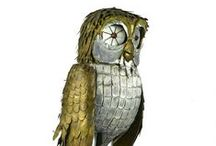 Parliament of Owls / A virtual collection of owls.