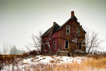 All but FORGOTTEN / If it is old, forgotten, abandoned, empty, or alone it will find it's way to my board. / by Shannon Koch