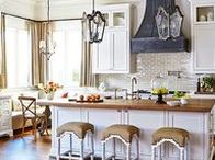 Kitchens / This board has some of my favorite kitchen design ideas. Most of them are French country, farmhouse, traditional, or a bit rustic inspired. I'm always on the lookout for cabinets, layouts, storage, and organization ideas for my dream kitchen. I also look for ways I can DIY my own kitchen.