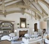 Living Rooms / This board has ideas for living room layouts and decor. Most of them are French country, farmhouse, rustic, and/or neutral.