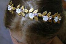Wedding head jewelry - Bijoux de tête mariage