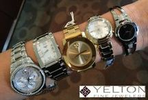 Watches / There are some pretty cool watches out there. Your friends at Yelton Fine Jewelers have brought most of them together in one place for you to browse. Check out the designer list, and find the one that suits your personality. www.yeltons.com/wannabuyawatch