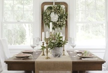 Dining Rooms / This board is for my decorating ideas about dining rooms. It contains farmhouse, French country, traditional, and rustic designs. I like both formal and informal dining rooms but definitely like an elegant feel.