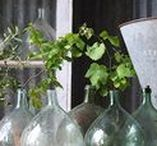 Home Accessories / This board is for my home accessories and decor ideas. Some of them I own and some are things I'd like to have. I include some DIY ideas and some quirky items. Often they are French country, rustic, vintage, or antique. These pieces go great in vignettes.