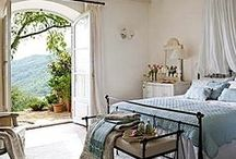 Bedrooms / This board contains ideas for decorating and designing a cozy bedroom. Most of them are master bedrooms and many of them are French country inspired.
