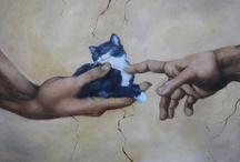 Arte Gattica (=^.^=) / by Micaela de Gregorio