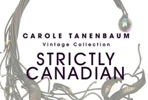 CTVC Strictly Canadian / One of a kind Vintage Canadian jewelry from the Carole Tanenbaum Vintage Collection. For price details of items shown on this board e-mail us at vintagecollection@caroletanenbaum.com