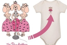 Whimsical Baby Clothing Featuring Adorable Dogs / The Optimistic Dog clothes for babies / by Cindy Kalman