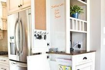 Organizing & Cleaning / These boards are for ideas about organization. They are tips for reducing and reorganizing clutter and stuff in the kitchen, bedroom, closet, craft room, bathroom......I also add pins with household cleaning tips and hacks.