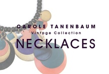 CTVC Necklaces / One of a kind Vintage necklaces from the Carole Tanenbaum Vintage Collection. Shop our necklaces: www.caroletanenbaum.com/products/necklaces/ / by Carole Tanenbaum Vintage Collection
