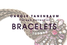 CTVC Bracelets / One of a kind Vintage cuffs and bracelets from the Carole Tanenbaum Vintage Collection. / by Carole Tanenbaum Vintage Collection