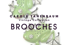 CTVC Brooches / One of a kind Vintage brooches from the Carole Tanenbaum Vintage Collection. For price details of items shown on this board e-mail us at vintagecollection@caroletanenbaum.com