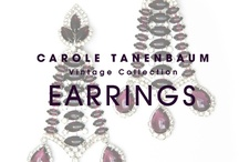CTVC Earrings / One of a kind Vintage earrings from the Carole Tanenbaum Vintage Collection. For price details of items shown on this board e-mail us at vintagecollection@caroletanenbaum.com