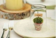Tablescapes and Settings / This board includes ideas for tablescapes and settings. Some of them are holiday or themed tables. They range from elegant to simple and rustic. Many of them are French country inspired.