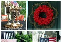 4th of July / Includes patriotic decorations and crafts for the fourth of July.