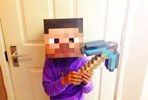 Minecraft Bastelideen für die Jungs
