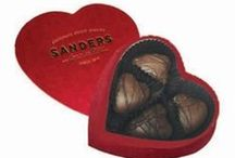 Valentine's Day Sweets & Gifts / Sanders Valentine's Day items like Satin Hearts and red foiled chocolates are a requirement to make this sweet holiday a success.