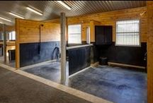 Stable Interiors - Wash and Groom Stalls