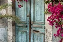 Doors and Windows / This board is for ideas on interior and front doors and about windows and trim. Some of them are vintage or antique doors.