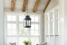 Ceilings / This board is for beautiful and unique ideas for the ceiling. These pins have ideas for giving a ceiling a design makeover. The board includes wood beams, painted ceilings, coffered ceilings, and tray ceilings.