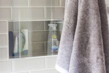 ENSUITE / Inspiration for an ensuite or small space bathroom