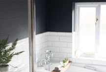 FAMILY BATHROOM / Inspiration for a stylish but functional family bathroom.