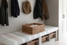 HALLWAY / BOOTROOM / Ideas for my perfect bootroom & entrance hallway to my house.