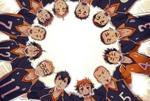 Haikyuu / The volleyball sports anime (if you want to collaborate, please follow me or ask a collaborator to add you)