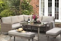 OUTDOOR DINING AREA / Design ideas for the outdoor dining area. Inspiration for the garden patio!