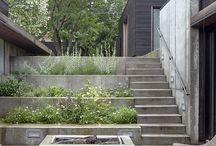 Diseño exteriores / Elementos para el diseño de jardines.