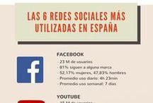 Social Media / Infografías y otros Pines relacionados con el Social Media Management