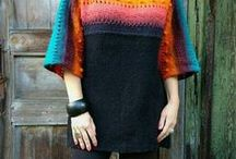 JuliasFineKnits / Knitwear by my hands, handknitted sweater, knit dress, knit top, knit poncho