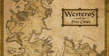 Movie maps / Maps of famous stories - books, movies, TV series, either for children or adults. Game of Thrones, Harry Potter, Star Wars, Lord of the Rings, and many more...