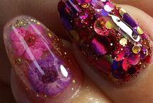 Nails natural/flowers art / Passion! Nail art floreali!